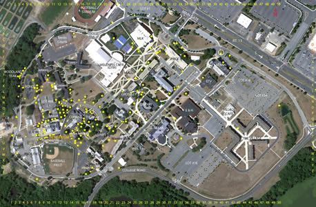 delaware state university campus map Arboretum Herbarium Delaware State delaware state university campus map